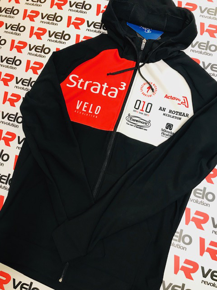 Strata3 - VeloRevolution 2020 Kit - Casual Lycra Hoodie
