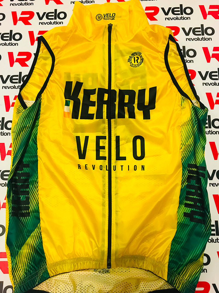 Gilet Windcutter - THE VELO KERRY KIT (with Mesh on Rear)