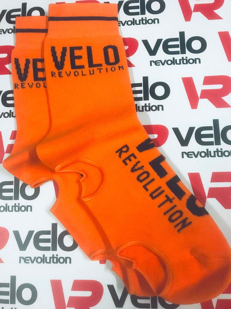 Belgian Booties TIGER ORANGE VELO (Oversocks)