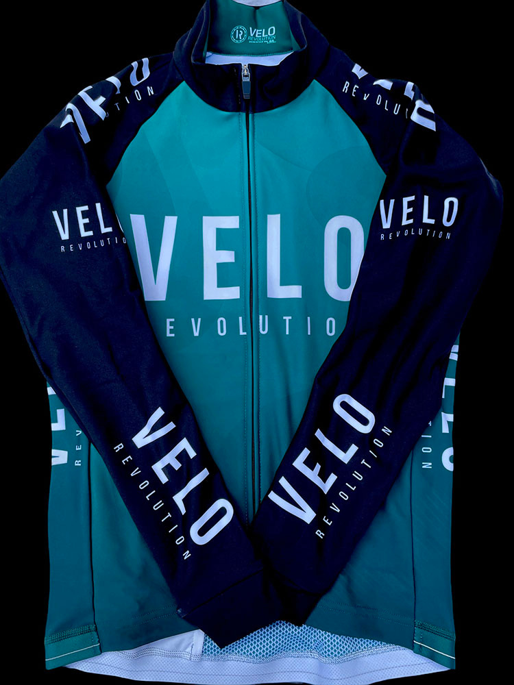 Long Sleeve Thermal Jersey EMERALD GREEN