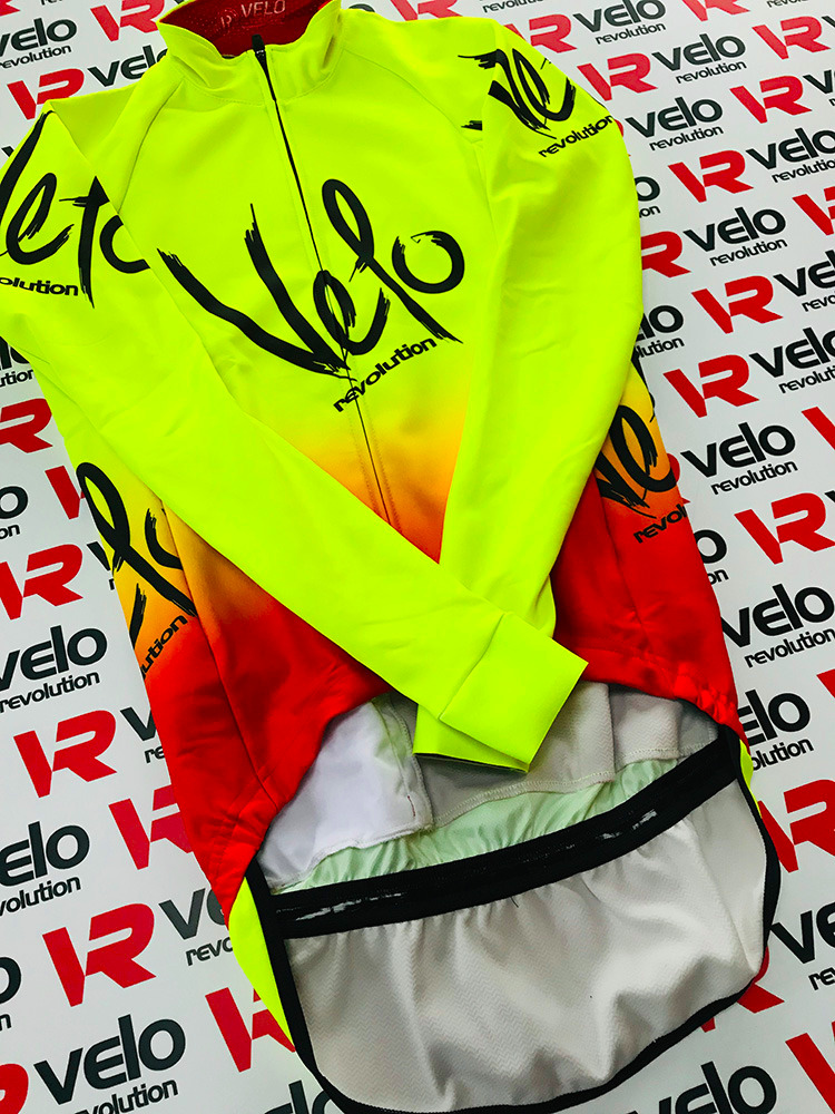 Hydra v4 Fluo Yellow with Red (eVent Fabric)