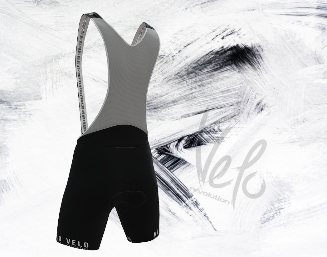 Bib Shorts PRO VELO BLACKOUTS II (AIR Pad)