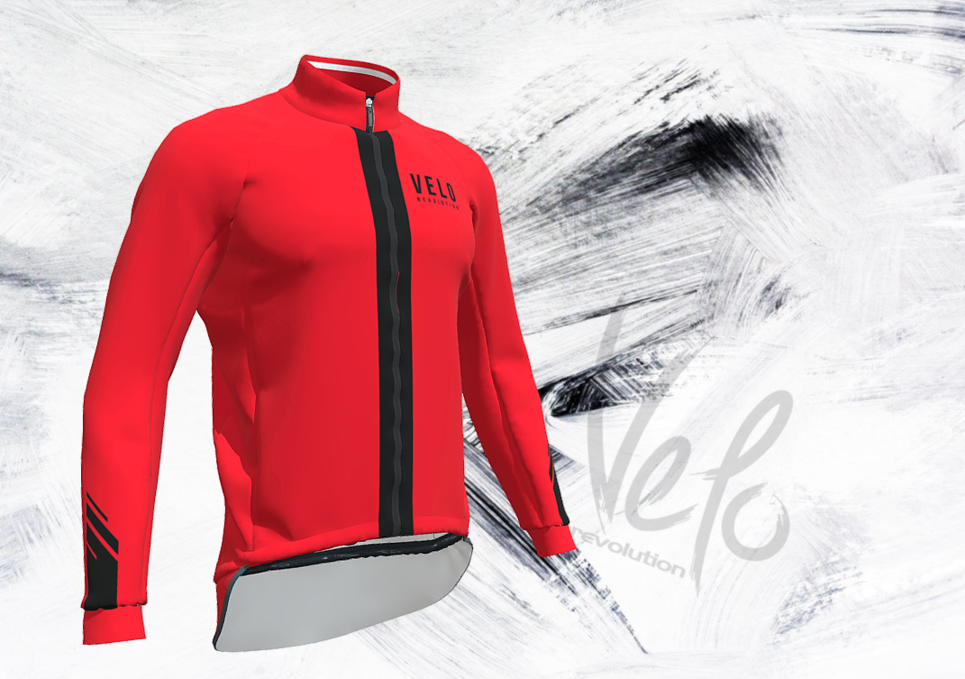 Storm Red Rain Jacket/Cape (eVent Fabric)