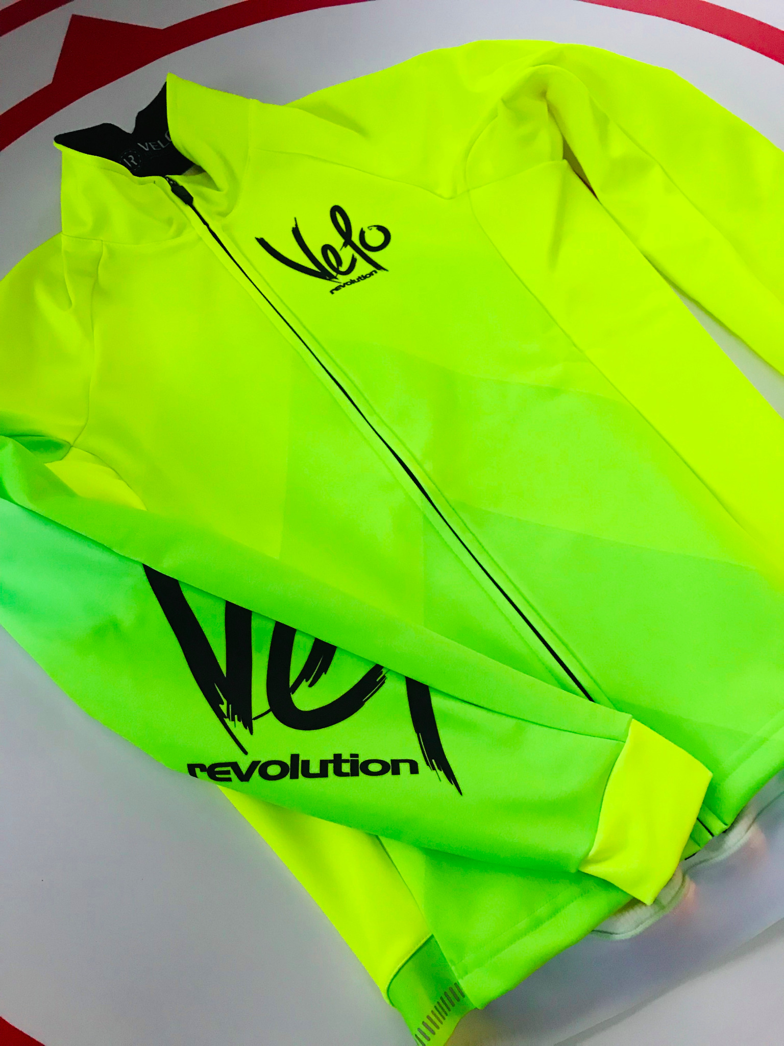 Long Sleeve ICE Thermal Jacket - BRIGHT YELLOW & GREEN