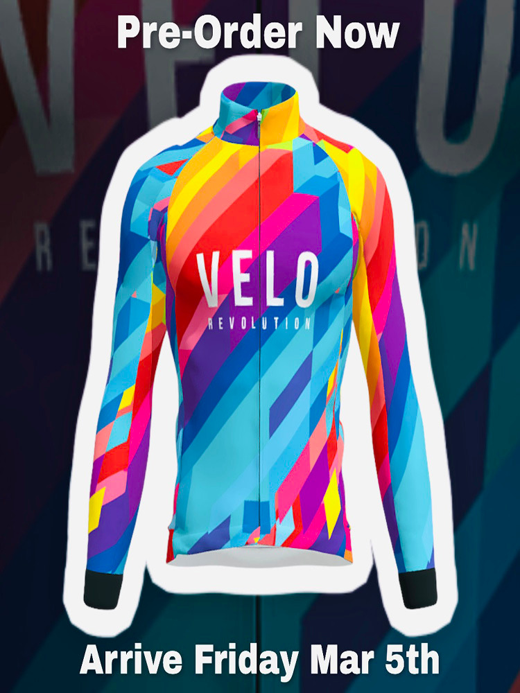 Long Sleeve Thermal Jersey - VIBRANT ENERGY (PRE-ORDER NOW)