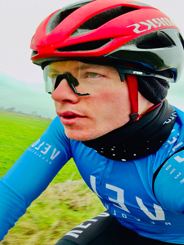 Long Sleeve Thermal Jersey SKY BLUE