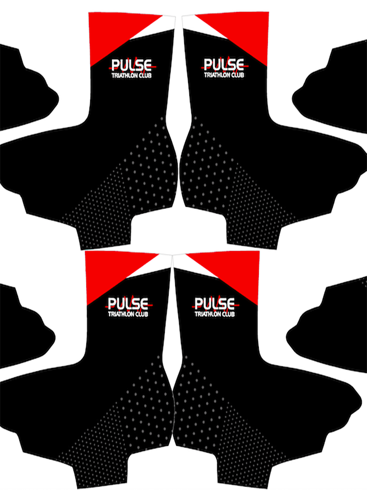 PULSE TRIATHLON CLUB - CYCLING OVERSHOES