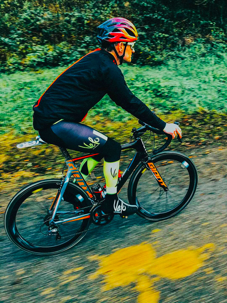 Bib Tights SUPER ROUBAIX with FLUO YELLOW VIS Panel (XS + SMALL Only)