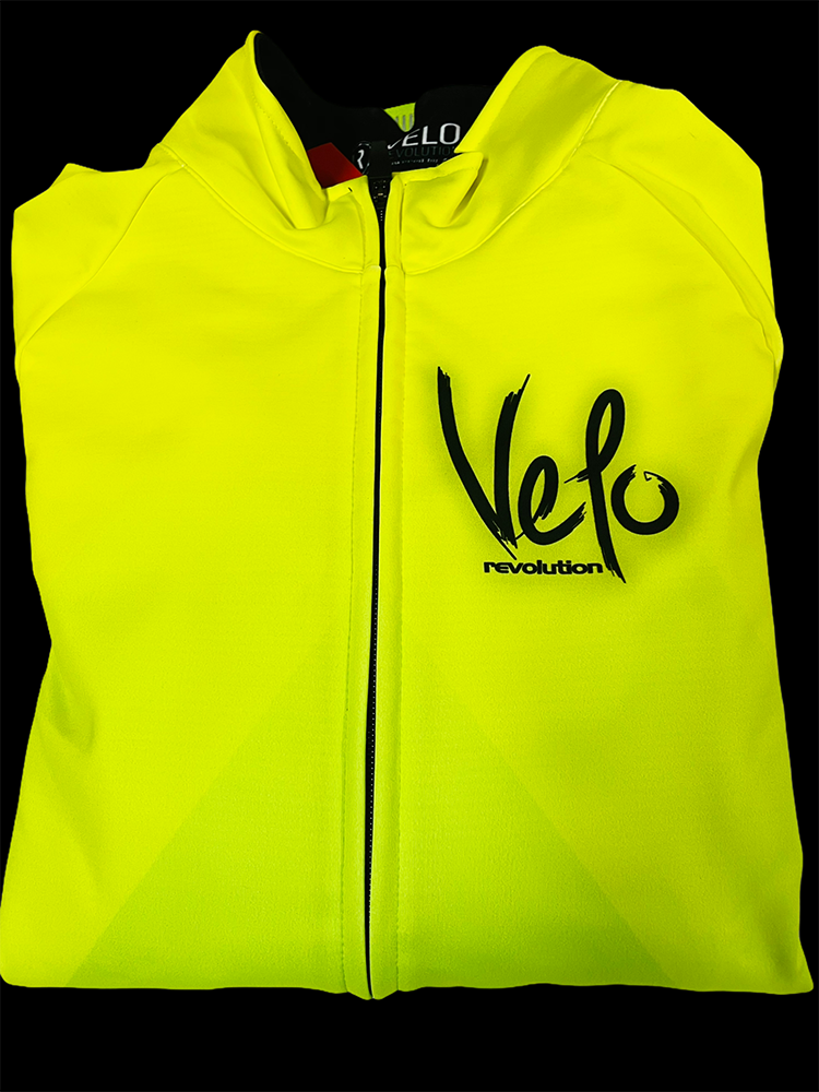 ICE Thermal Winter Jacket - FLUO YELLOW w/Neon GREEN (XL and XXL Available)