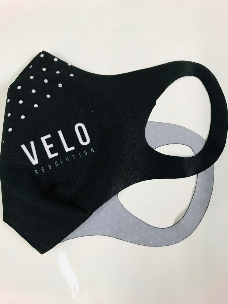 VeloRevolution Face Mask (with filter) BLACK