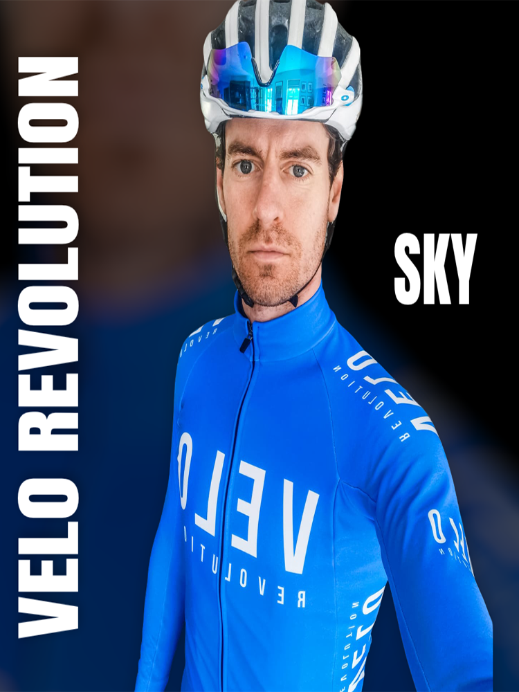 Long Sleeve Thermal Jersey - SKY BLUE