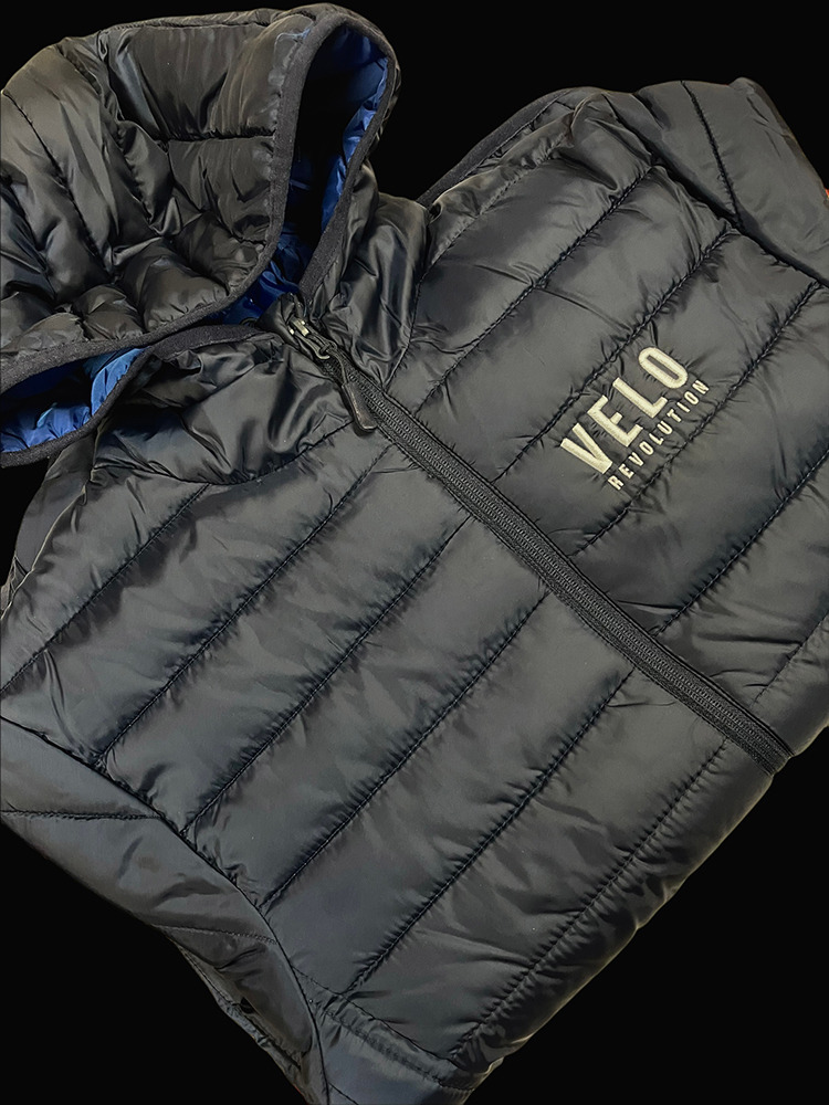 LifeStyle - FRENCH NAVY Quilted Jacket