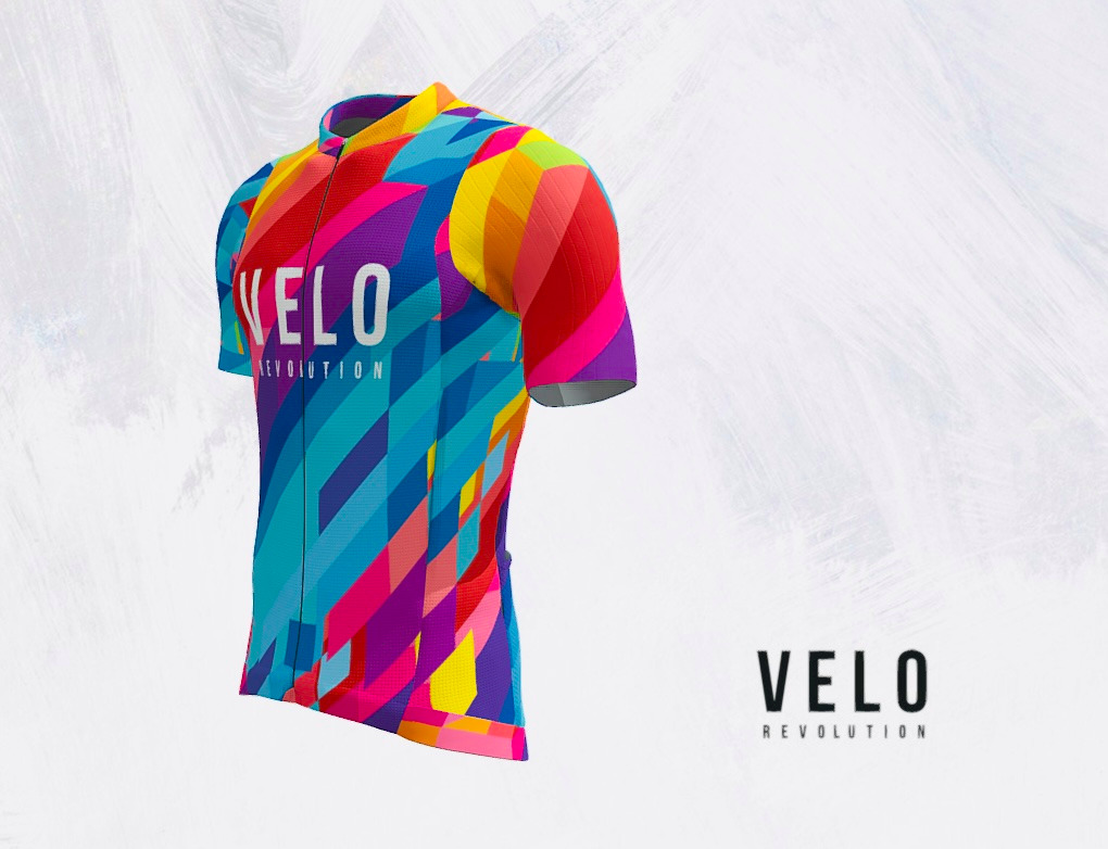 Short Sleeve Jersey PRO VIBRANT ENERGY with Tailored Sleeve