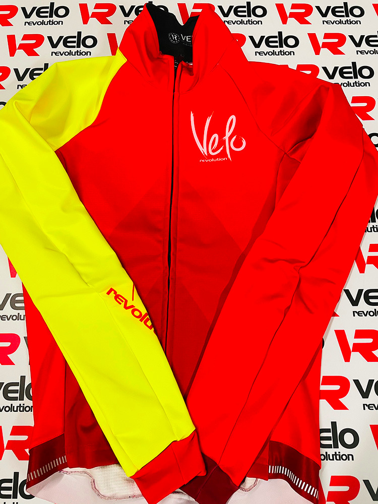 ICE Thermal Winter Jacket - RED w/Fluo Yellow (XXL only available)