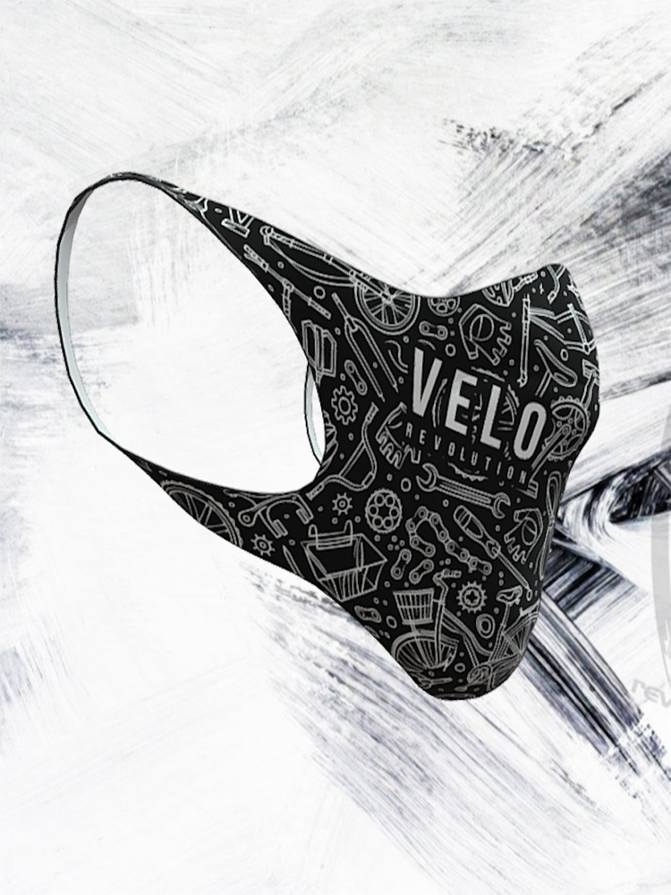 VeloRevolution Face Mask (with filter) The Cyclist