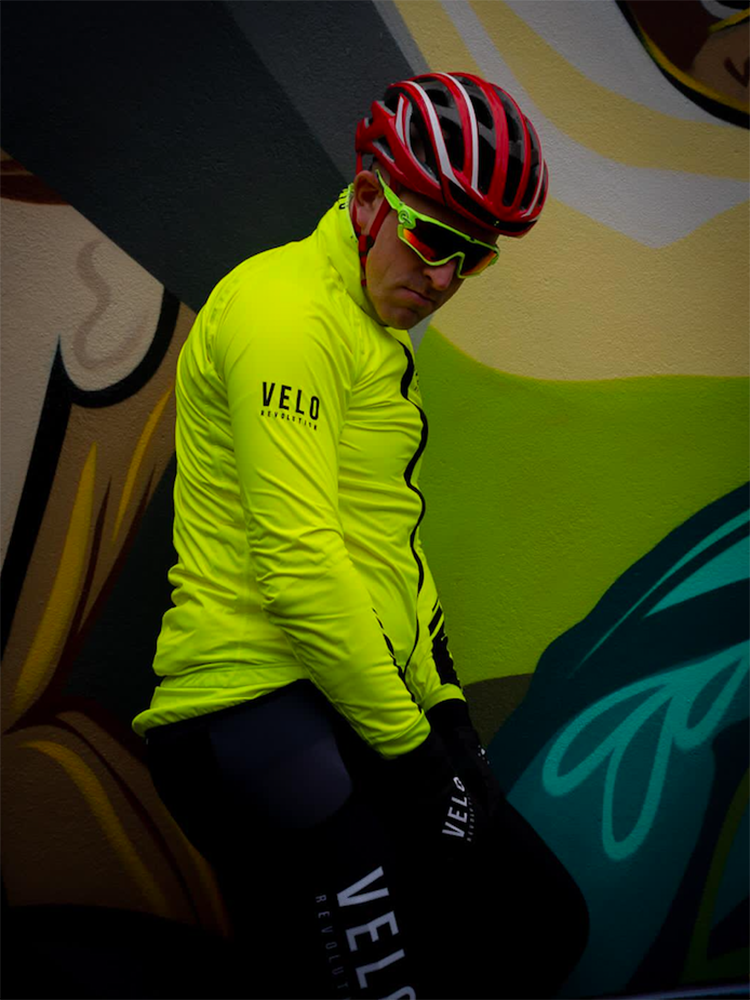 STORM YELLOW FLUO Rain Jacket/Cape