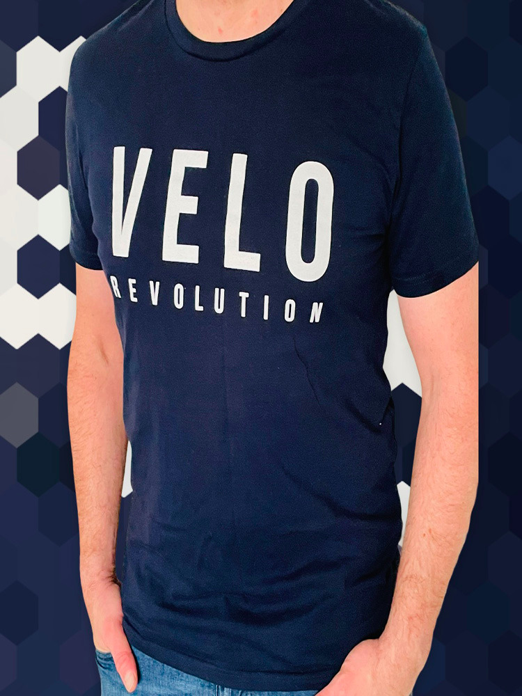 VELO LOGO MIDNIGHT BLUE T-Shirt
