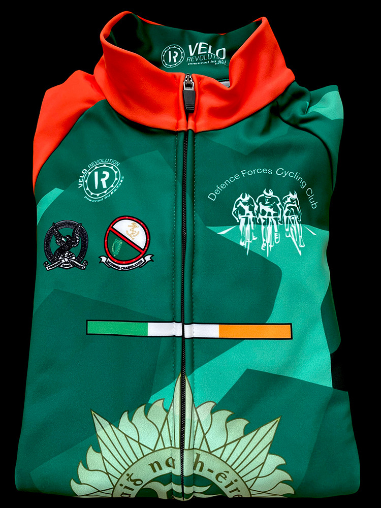 IRISH DEFENCE FORCES- LONG SLEEVE THERMAL JERSEY