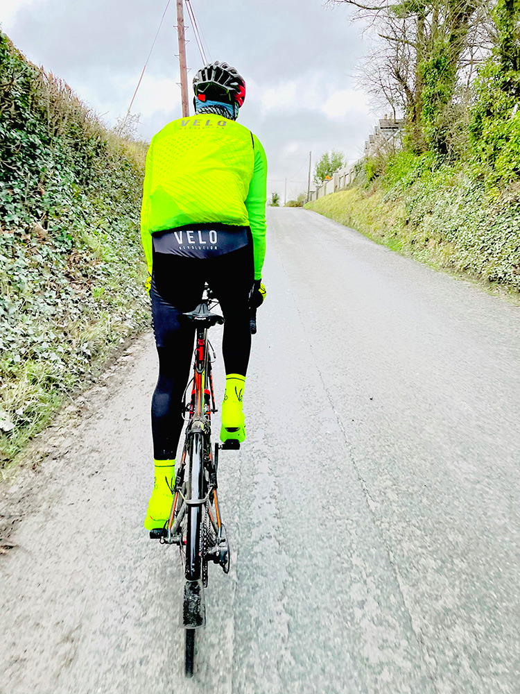 Gilet WindCutter - FLUO YELLOW SHAPES LITE