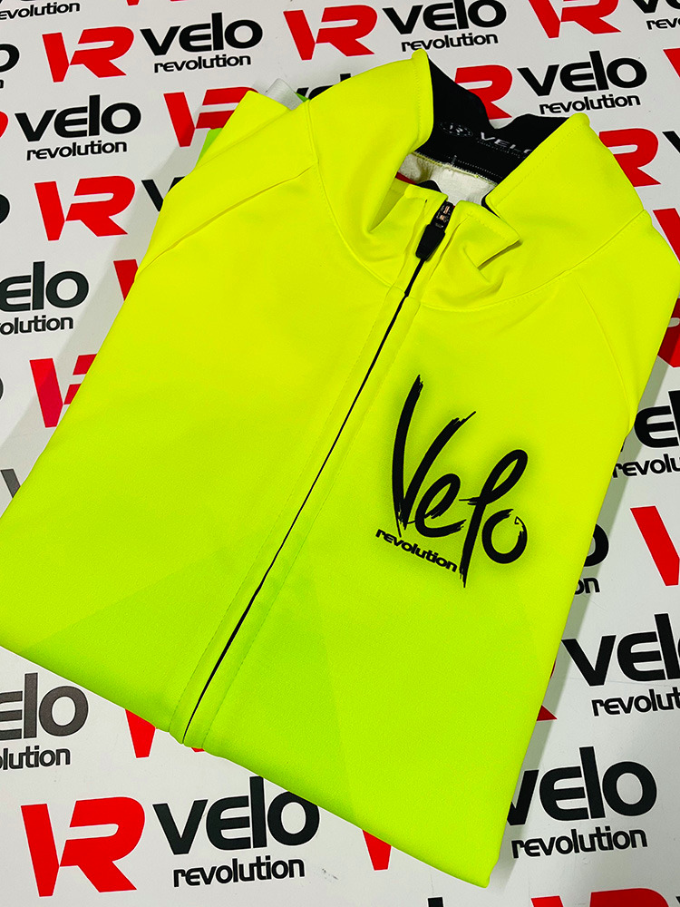 ICE Thermal Winter Jacket - FLUO YELLOW w/Neon GREEN (xl and xxl left)