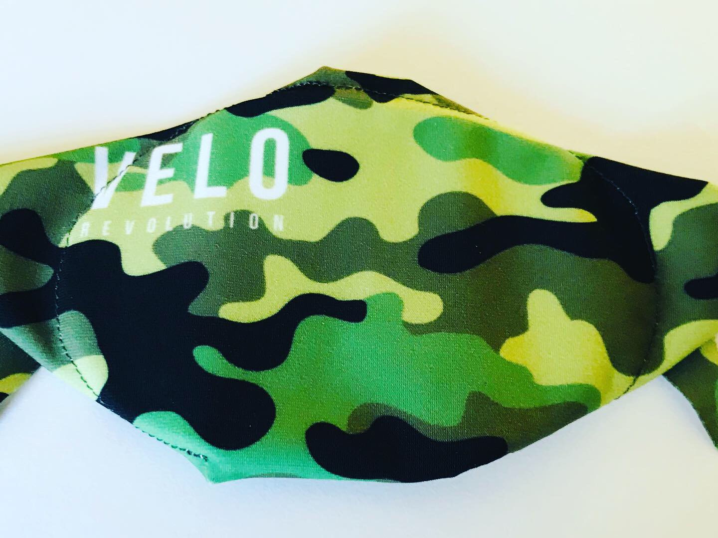 VELO Face Mask/Barrier (with 2 Filters) CAMO