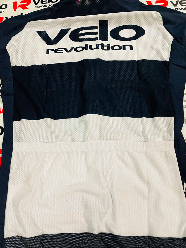 Short Sleeve Jersey ALL ROUNDER STRIPES NAVY w/White