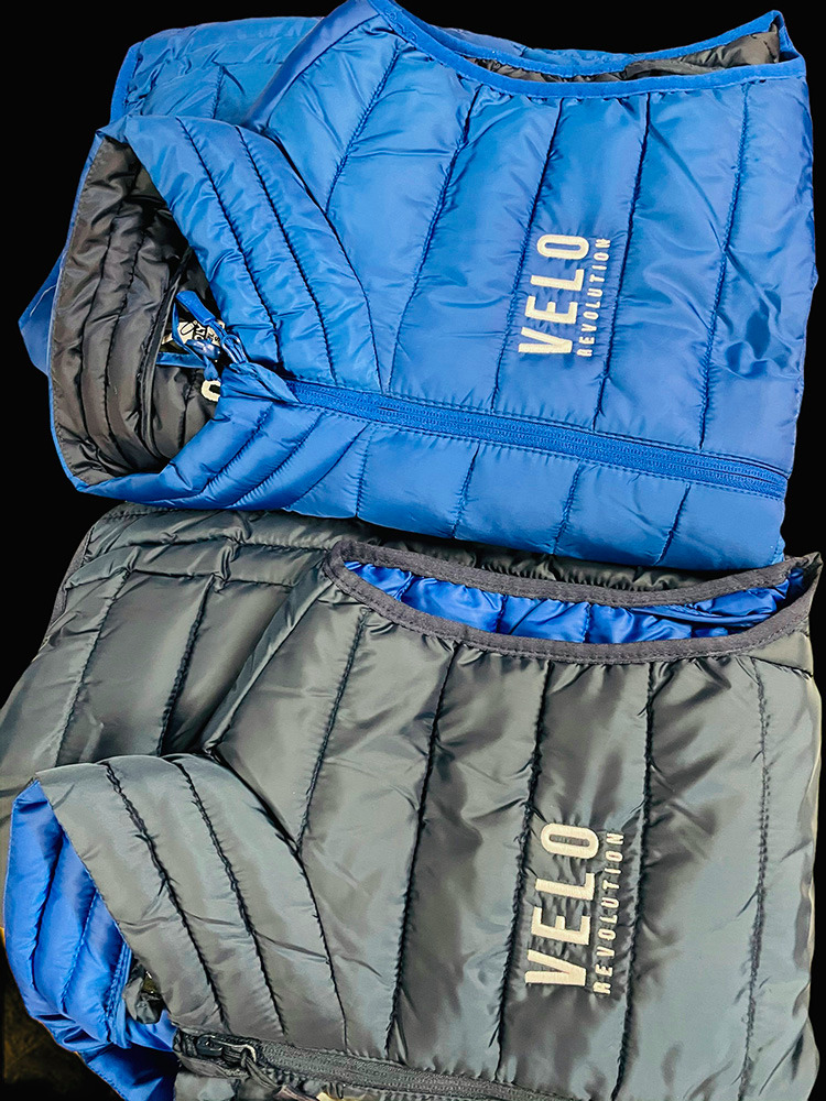 LifeStyle - FRENCH NAVY SLEEVELESS Quilted Jacket