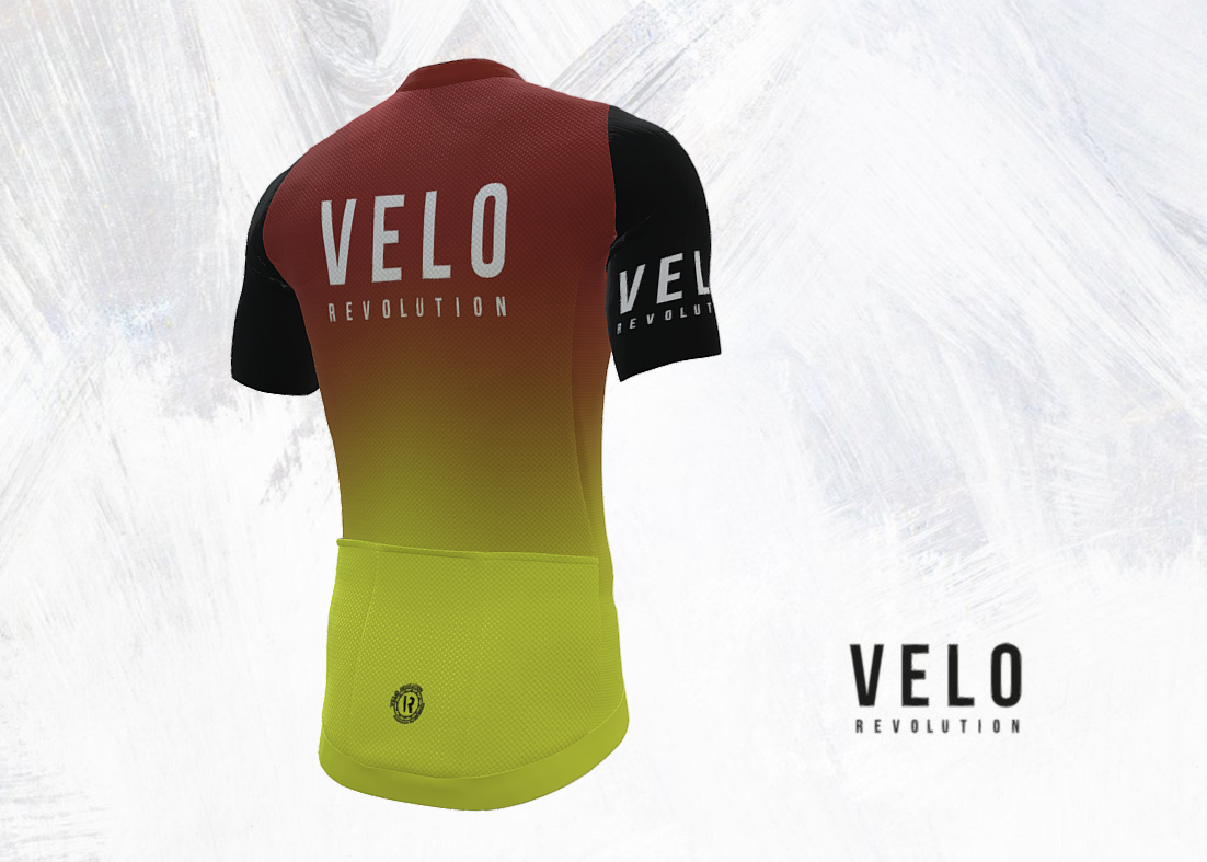 Short Sleeve Jersey PRO THE ROCKET with BLACK Tailored Sleeves