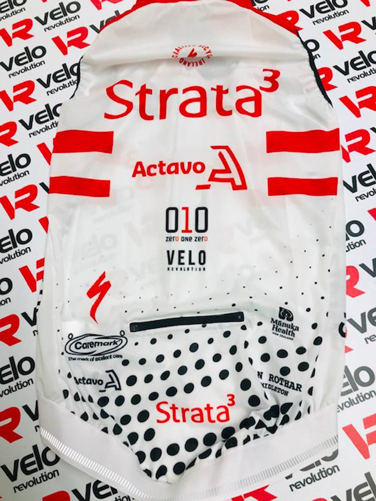Strata3 - VeloRevolution 2020 Kit - Gilet Rain Proof