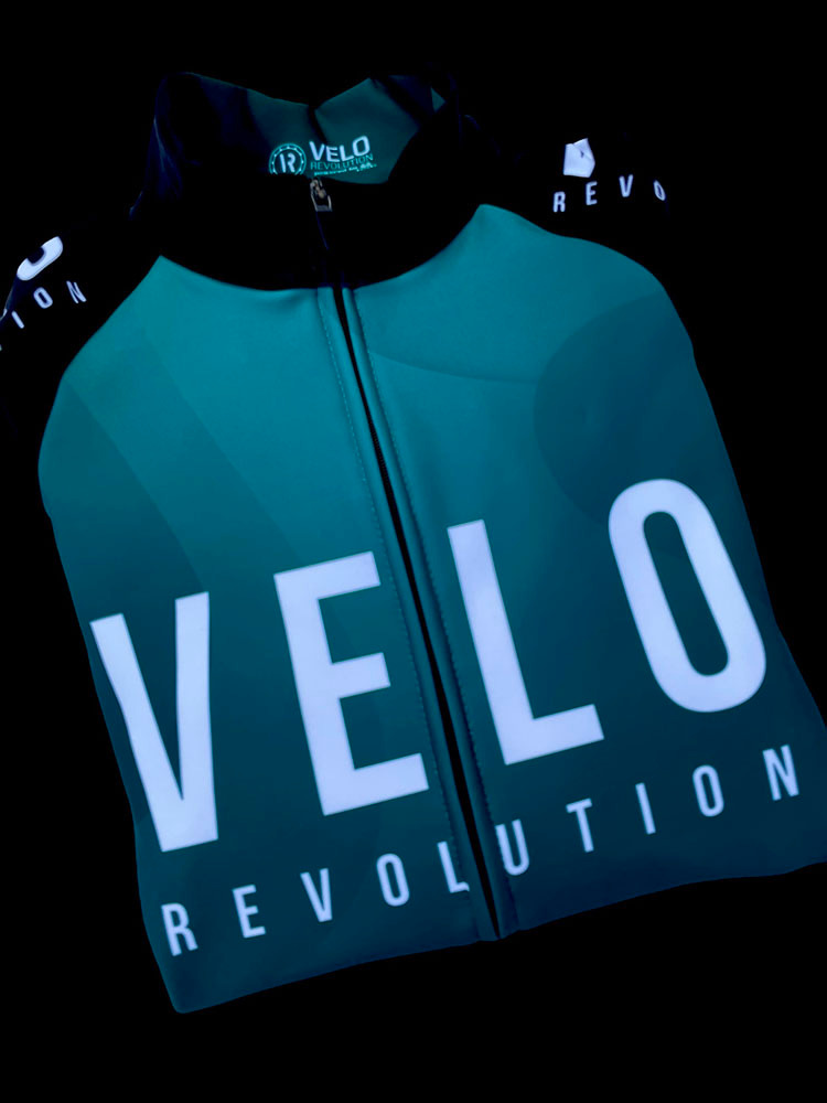 Long Sleeve Thermal Jersey - EMERALD GREEN