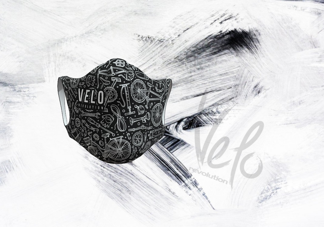 VELO Face Mask/Barrier (with 2 Filters) THE CYCLIST