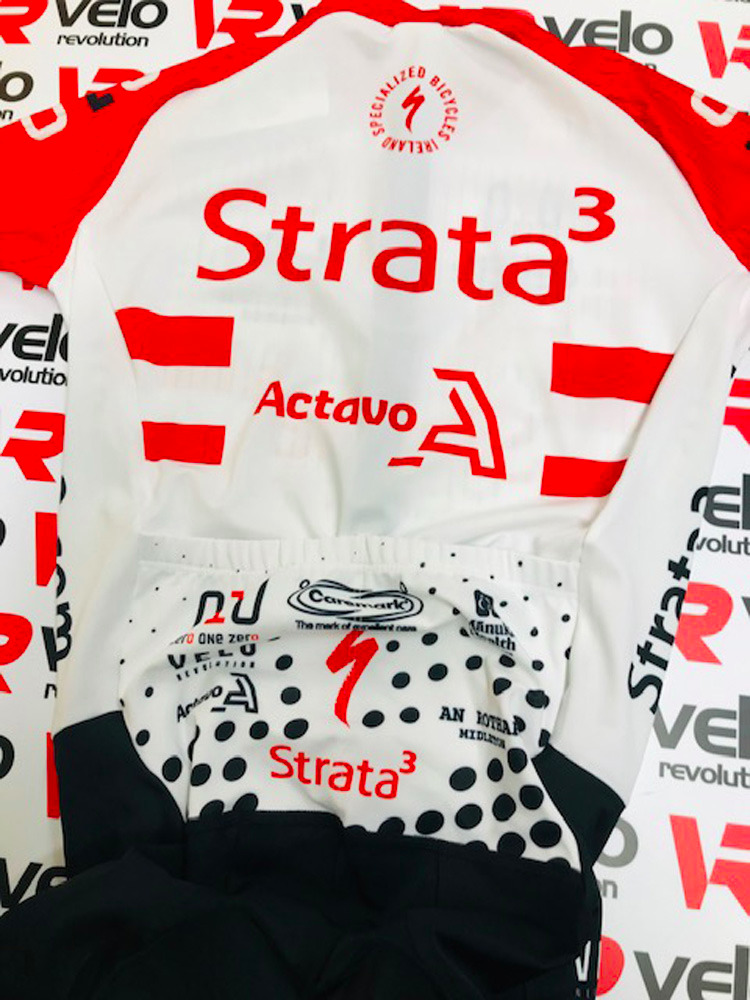 Strata3 - VeloRevolution 2020 Kit - Skinsuit Race Aero Sleeves