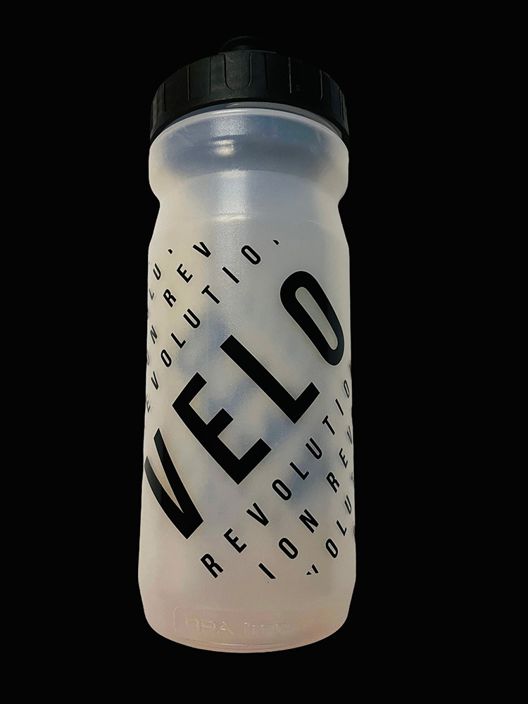 Pro Team Cycling Water Bottles - CLEAR VELO 600ml