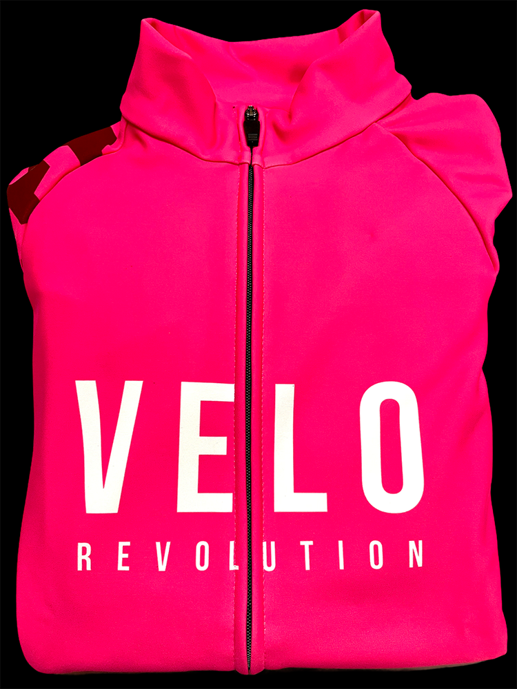 Long Sleeve Thermal Jersey NEON PINK