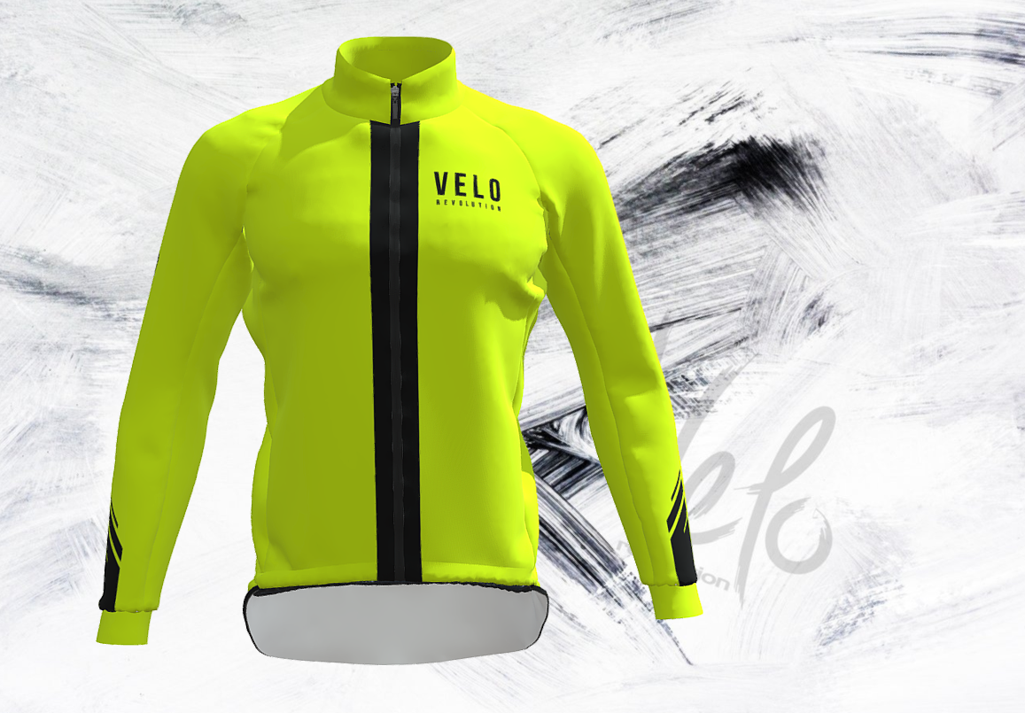 Storm Yellow Fluo Rain Jacket/Cape (eVent Fabric)