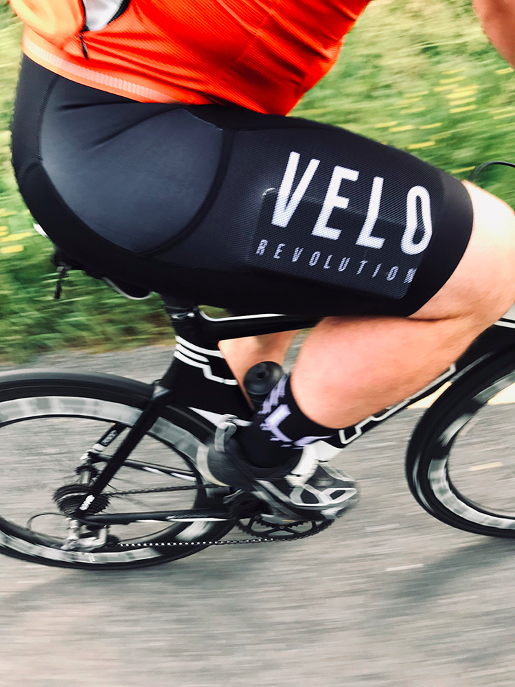 Bib Shorts Velo CARGOS (with Leg Pockets)