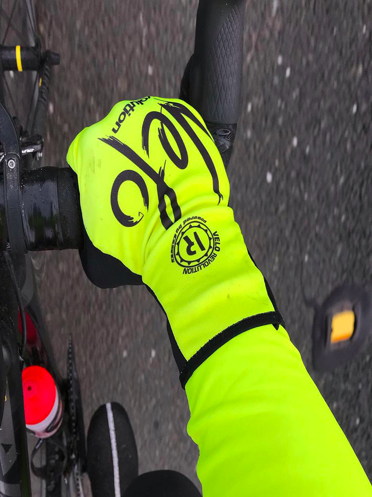 Gloves Wind Chill Winter/Spring - Yellow (only XL)