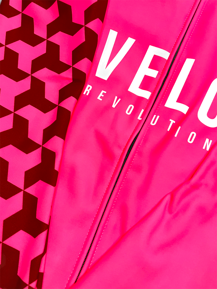LONG SLEEVE CORE THERMAL JERSEY NEON PINK