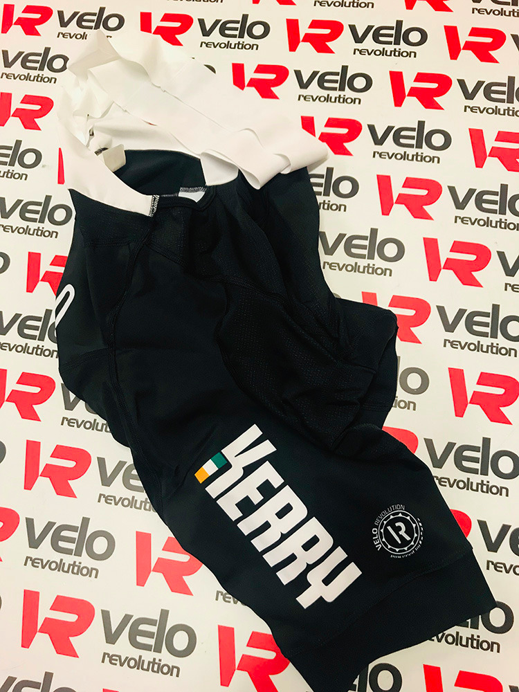 Bib Shorts HC PRO II THE VELO KERRY KIT (AIR PAD)