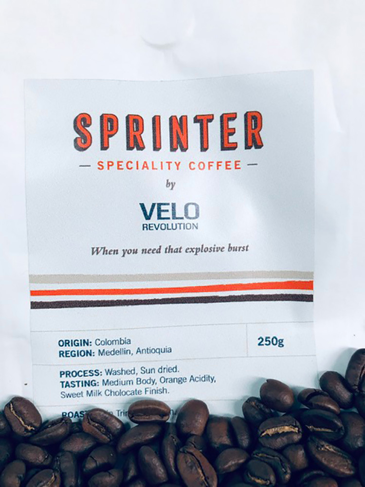 Cycling Espresso Coffee - VeloRevolution SPRINTER Single Origin