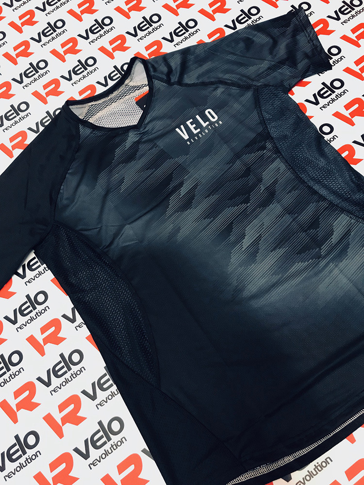 VELO BLACK FADE - FEMALE AIR DRY Technical Tee