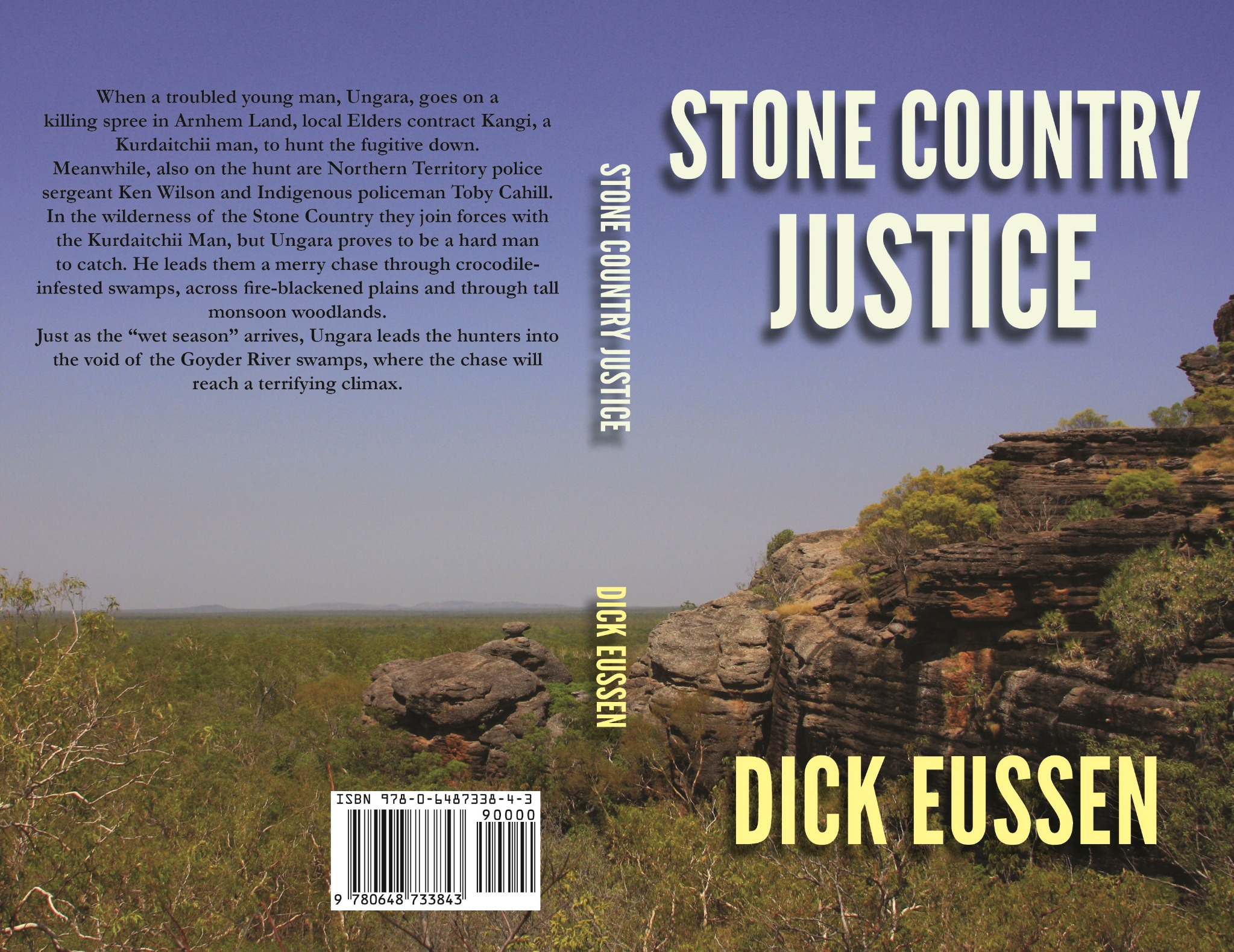 Stone Country Justice by Dick Eussen - PAPERBACK