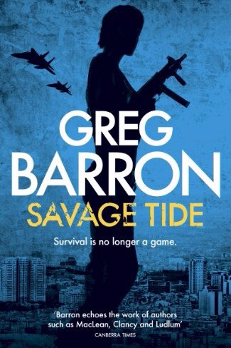 Savage Tide by Greg Barron (Paperback)