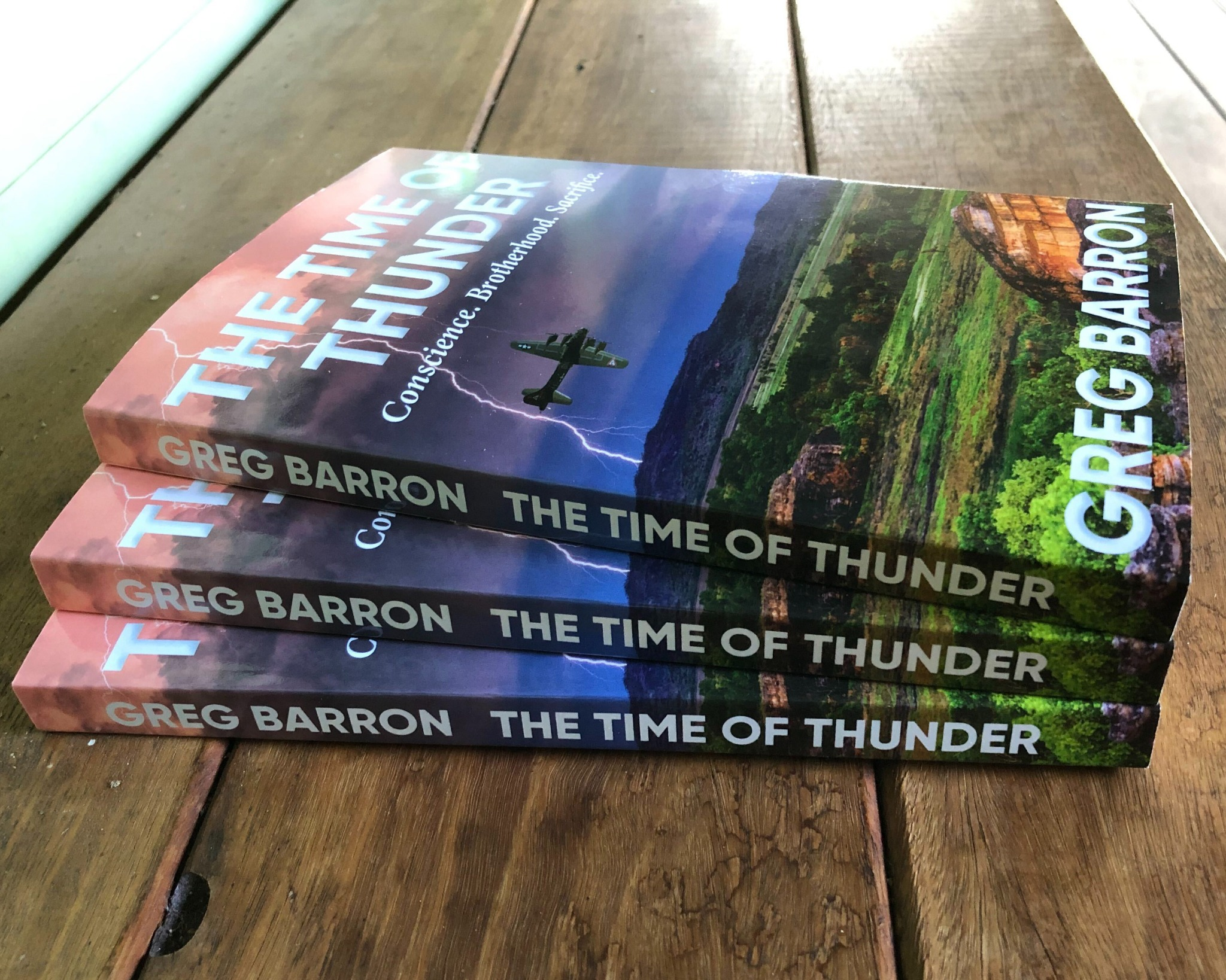 The Time of Thunder by Greg Barron