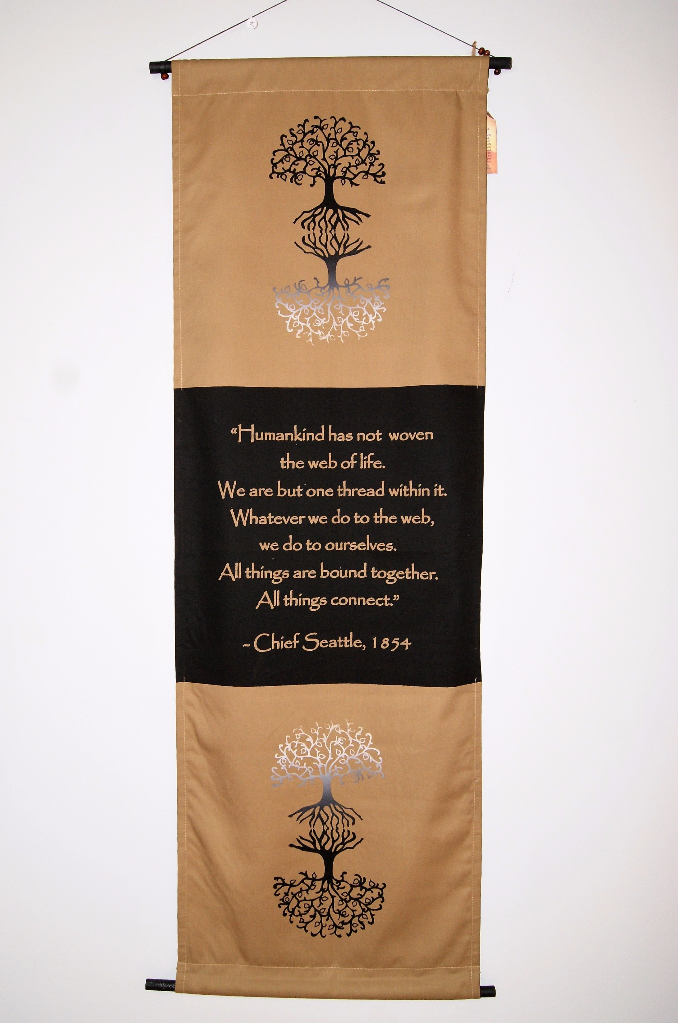 Chief Seattle's Quote Banner