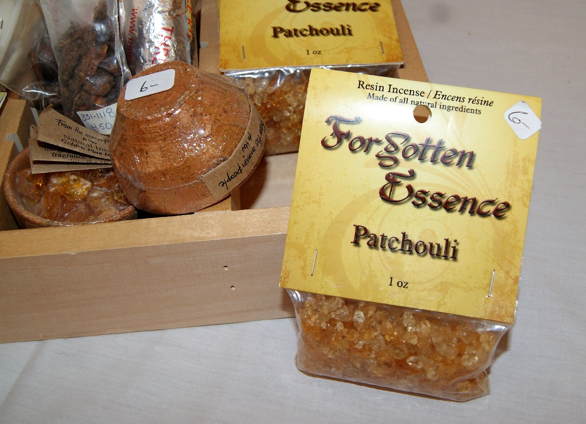 Resin Incense Patchouli