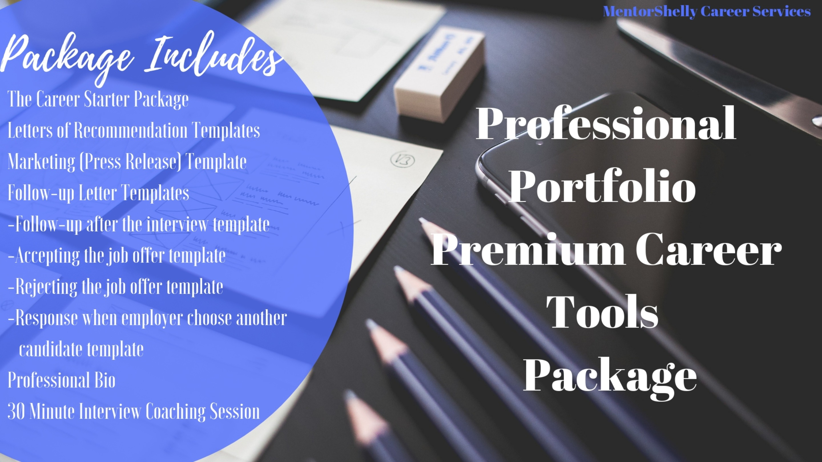 Premium Career Professional Portfolio Package