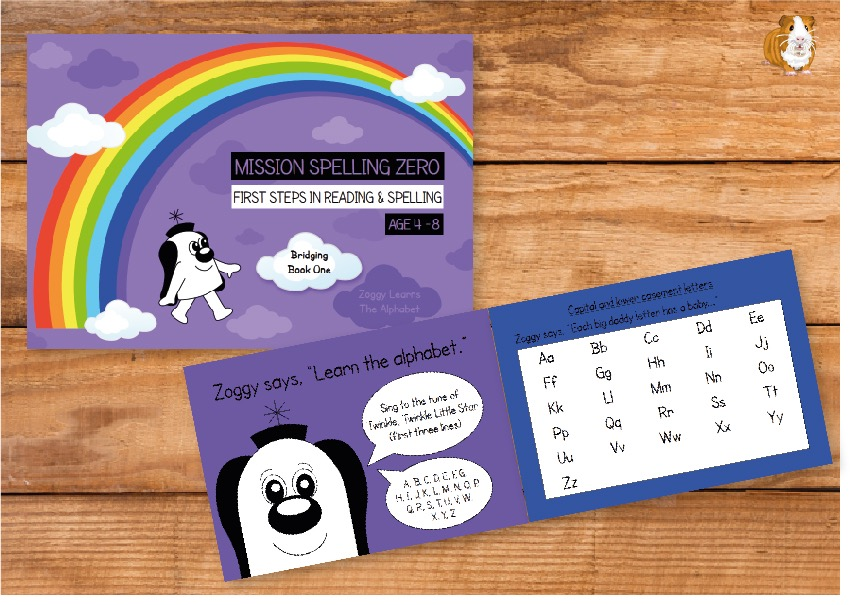 Bridging Book 1 - Zoggy Learns The Alphabet (Print Edition)