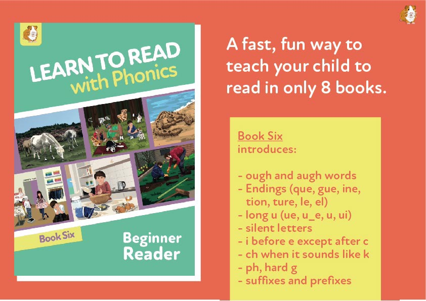 8. Learn To Read With Phonics | Beginner Reader Book 6 | Digital Download