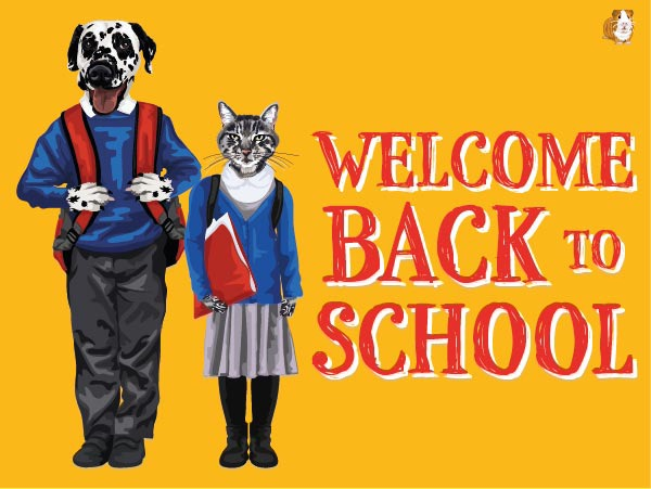 Welcome Back To School E-Card